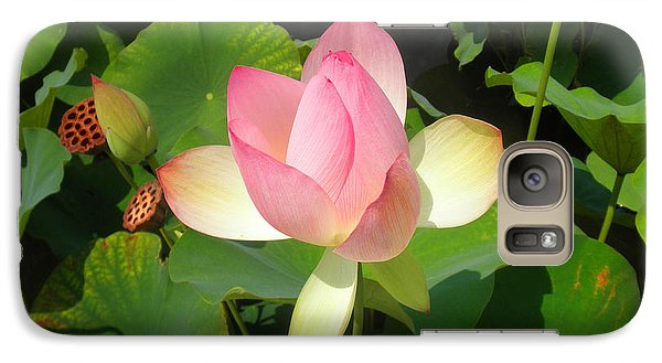 Galaxy Case featuring the photograph Lotus I by David Klaboe