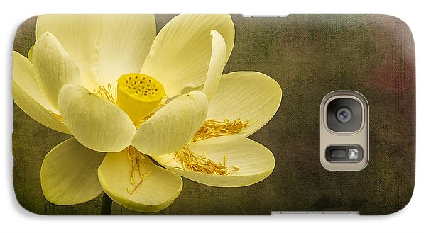 Galaxy Case featuring the photograph Lotus Notes by Vicki DeVico