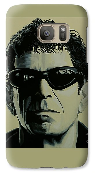 Lou Reed Painting Galaxy S7 Case