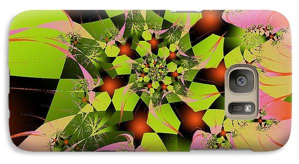 Galaxy Case featuring the digital art Loud Bouquet by Elizabeth McTaggart