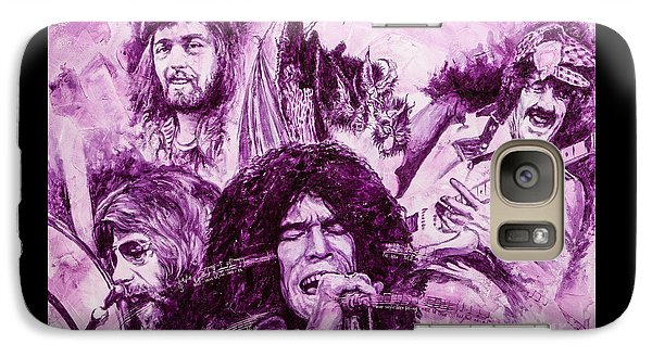 Galaxy Case featuring the painting Loud'n'proud by Igor Postash