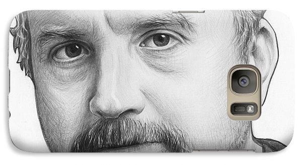 Louis Ck Portrait Galaxy S7 Case