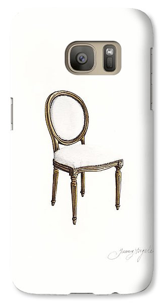 Louis Style Chair Galaxy Case by Jazmin Angeles