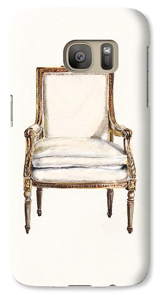 Louis Xvi Armchair Galaxy Case by Jazmin Angeles