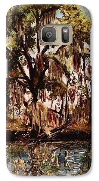 Galaxy Case featuring the photograph Louisiana Bayou by Brigitte Emme