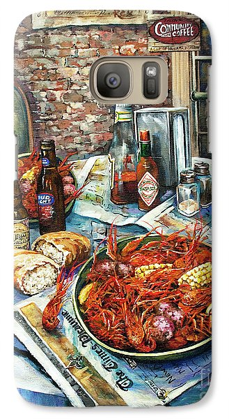 Food And Beverage Galaxy S7 Case - Louisiana Saturday Night by Dianne Parks