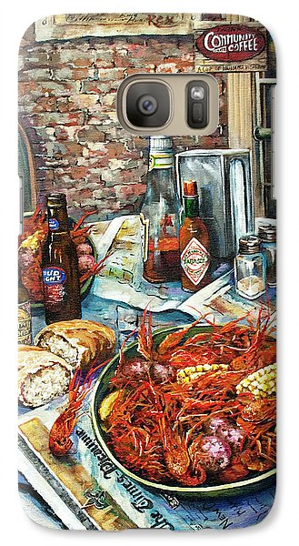 Galaxy Case featuring the painting Louisiana Saturday Night by Dianne Parks