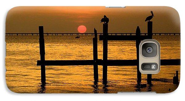 Galaxy Case featuring the photograph Louisiana Sunset  by Kathy Bassett