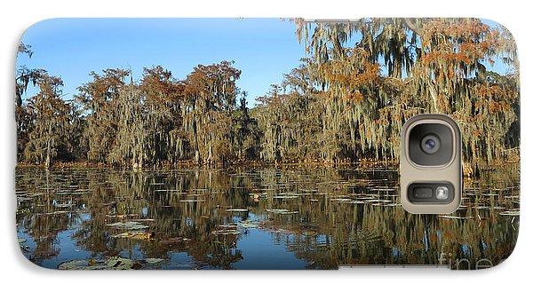 Galaxy Case featuring the photograph Louisiana Swamp by Martin Konopacki
