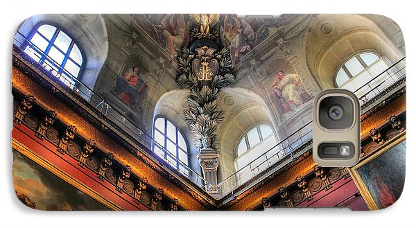 Galaxy Case featuring the photograph Louvre Ceiling by Glenn DiPaola