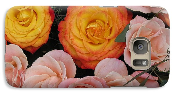 Galaxy Case featuring the photograph Love Bouquet by HEVi FineArt
