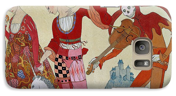 Swallow Galaxy S7 Case - Love Desire And Death by Georges Barbier