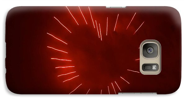 Galaxy Case featuring the photograph Love Explosion by Linda Mishler