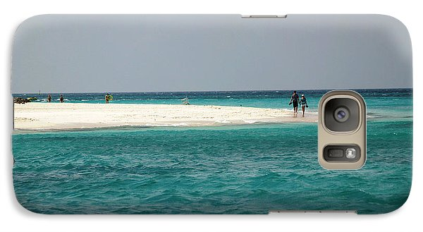 Galaxy Case featuring the photograph Love In Aruba by Living Color Photography Lorraine Lynch
