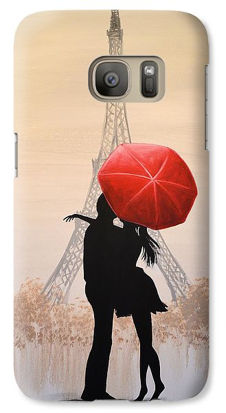 Love In Paris Galaxy S7 Case