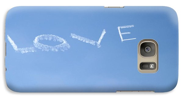 Galaxy Case featuring the photograph Love Is In The Air by Jodi Terracina
