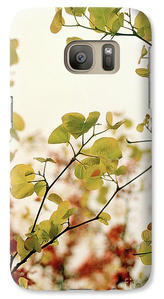 Galaxy Case featuring the photograph Love Leaf by Rebecca Harman