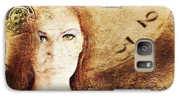 Galaxy Case featuring the digital art Love Letters by Riana Van Staden