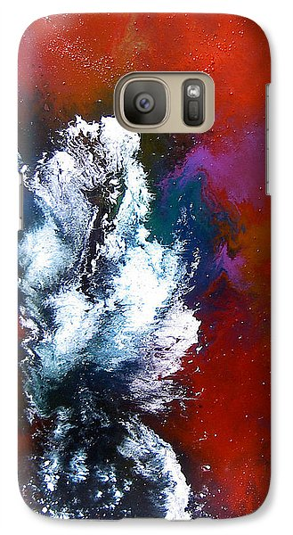 Galaxy Case featuring the painting Love by Min Zou