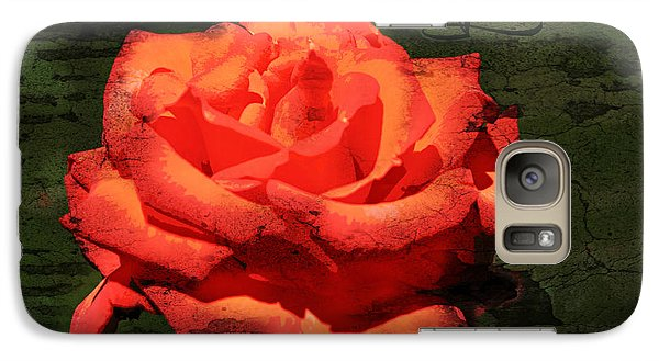 Galaxy Case featuring the photograph Love N Rose by Mindy Bench
