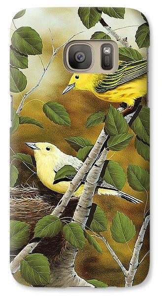 Love Nest Galaxy S7 Case by Rick Bainbridge