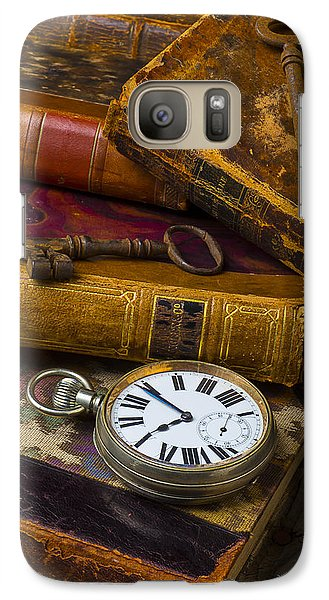 Love Old Books Galaxy Case by Garry Gay