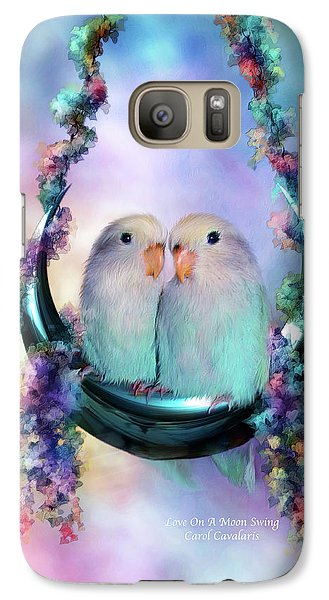 Love On A Moon Swing Galaxy S7 Case