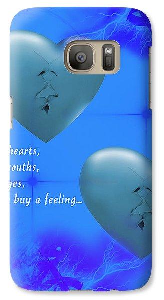 Galaxy Case featuring the digital art Love On Valentine's Day by Angel Jesus De la Fuente