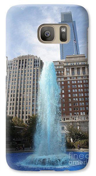 Galaxy Case featuring the photograph Love Park by Christopher Woods