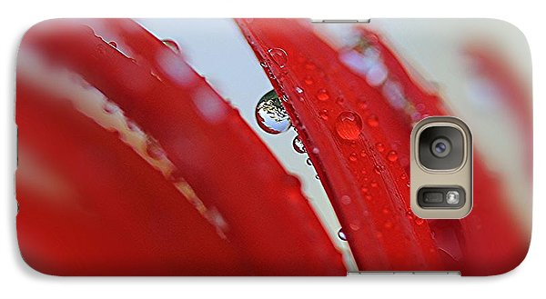Galaxy Case featuring the photograph Love Rainy Day by Yumi Johnson