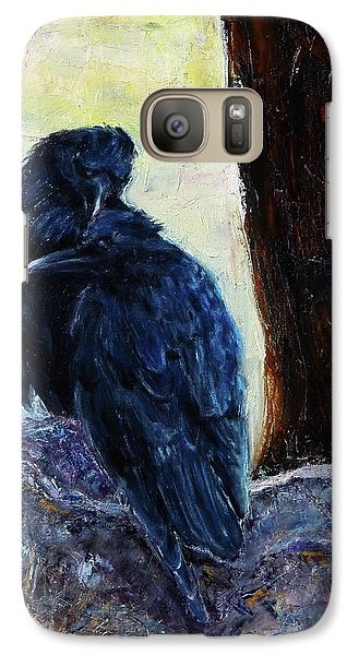 Galaxy Case featuring the painting Love Season I by Xueling Zou