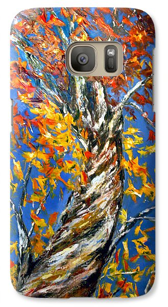 Galaxy Case featuring the painting Love That Reaches by Meaghan Troup