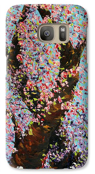 Galaxy Case featuring the painting Love Wound by Meaghan Troup