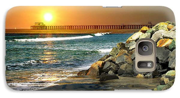 Galaxy Case featuring the digital art Loved By The Sun by Rhonda Strickland