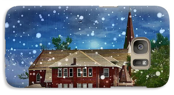 Galaxy Case featuring the photograph Lovely Country Church by Liane Wright
