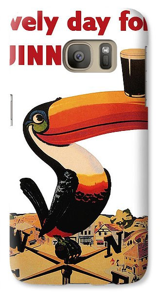 Lovely Day For A Guinness Galaxy S7 Case by Georgia Fowler
