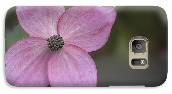 Galaxy Case featuring the photograph Pink Four by Jacqui Boonstra