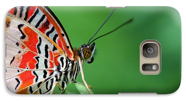 Galaxy Case featuring the photograph Lovely Lacewing by Ruth Jolly