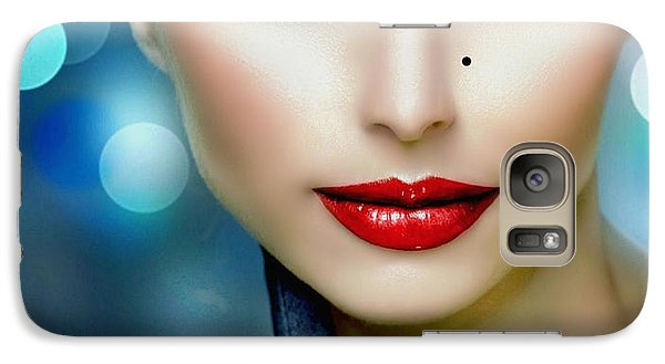 Galaxy Case featuring the digital art Lovely Lady 1 by Karen Showell
