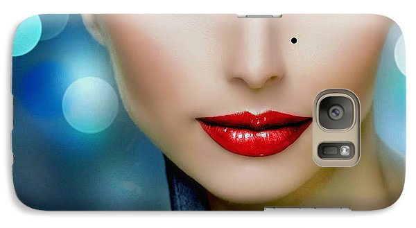 Galaxy Case featuring the digital art Lovely Lady 2 by Karen Showell