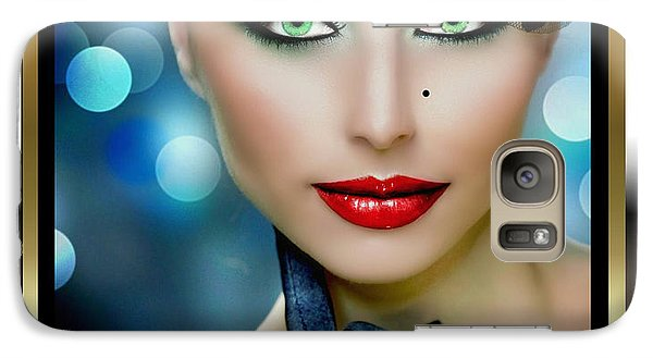 Galaxy Case featuring the digital art Lovely Lady 4 by Karen Showell