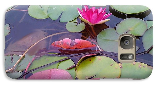 Galaxy Case featuring the photograph Lovely Lotus by Diana Riukas