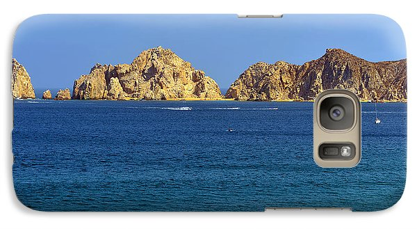 Galaxy Case featuring the photograph Lovers Beach Cabo by Christine Till