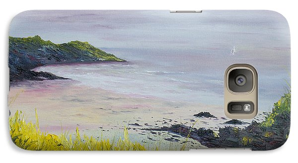 Galaxy Case featuring the painting Lovers Cove Kinsale   by Conor Murphy