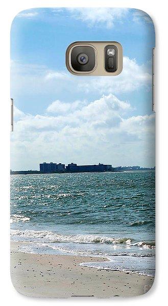 Galaxy Case featuring the photograph Lovers Key Beach by Oksana Semenchenko