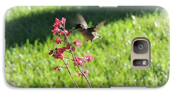 Galaxy Case featuring the photograph Loves Nectar by Teresa Schomig