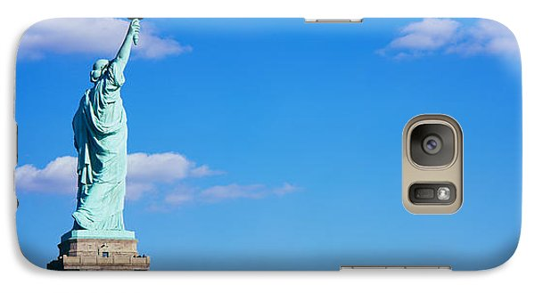 Low Angle View Of A Statue, Statue Galaxy S7 Case by Panoramic Images