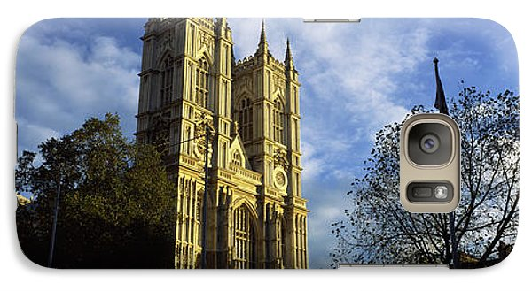 Low Angle View Of An Abbey, Westminster Galaxy S7 Case by Panoramic Images
