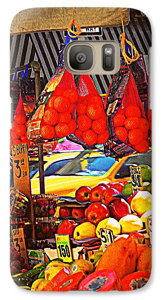 Galaxy Case featuring the photograph Low-hanging Fruit by Miriam Danar