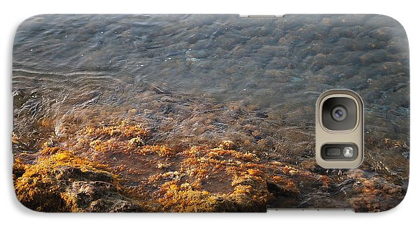 Galaxy Case featuring the photograph Low Tide by George Katechis